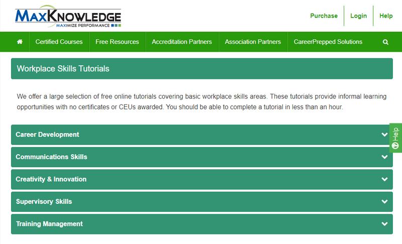 MaxKnowledge Website