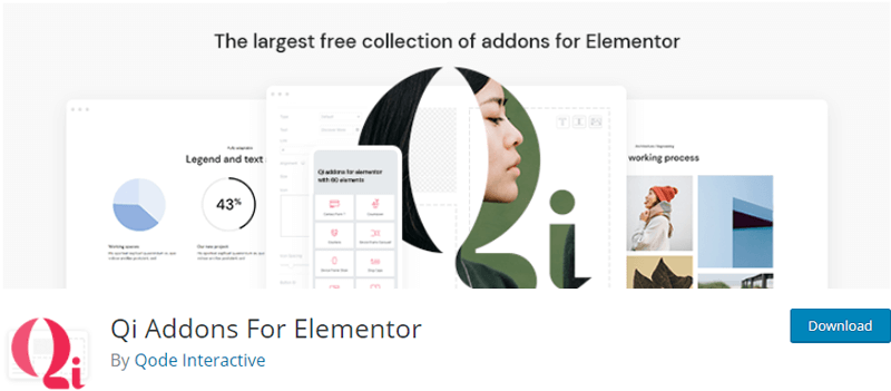 Qi extension for elementor