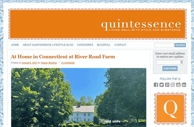 Quintessence Blog lifestyle and travel blog
