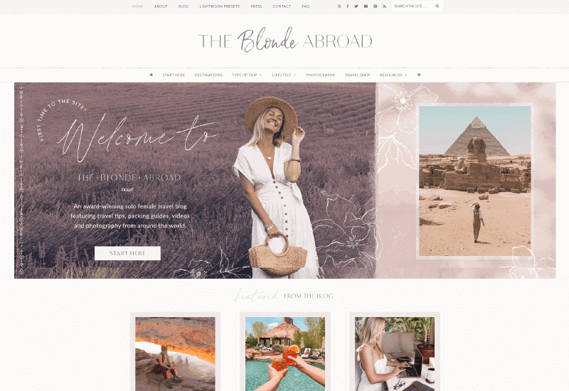 The Blonde Abroad lifestyle Blog