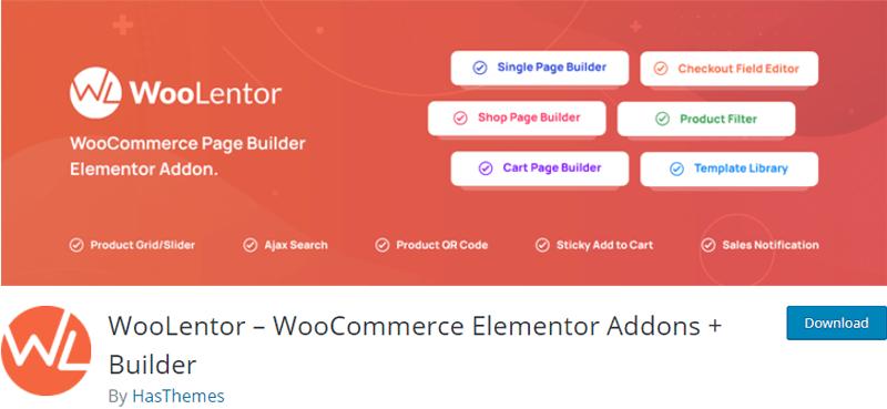WooLentor best woocommerce addon