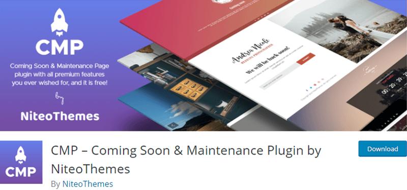 CMP Coming Soon WordPress Plugin