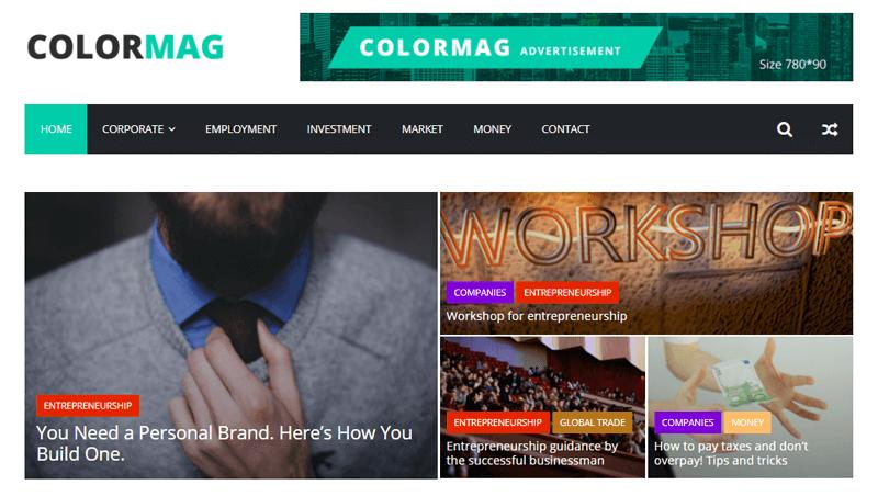 ColorMag WordPress Magazine Themes