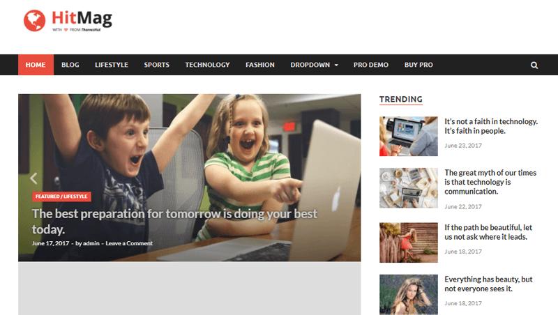 HitMag WordPress Magazine Themes