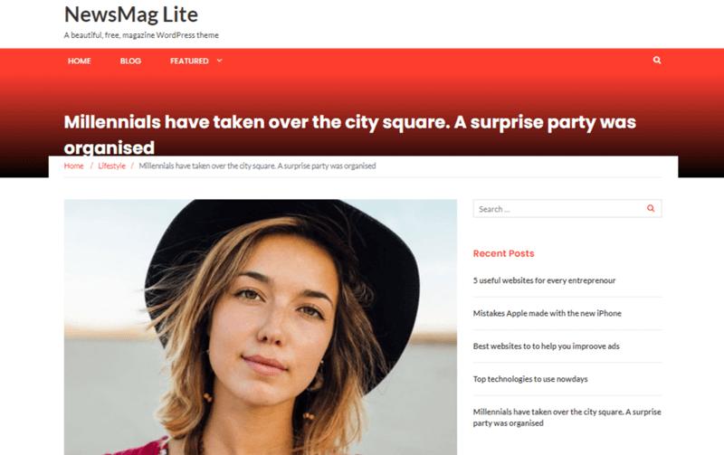 NewsMag Lite Themes