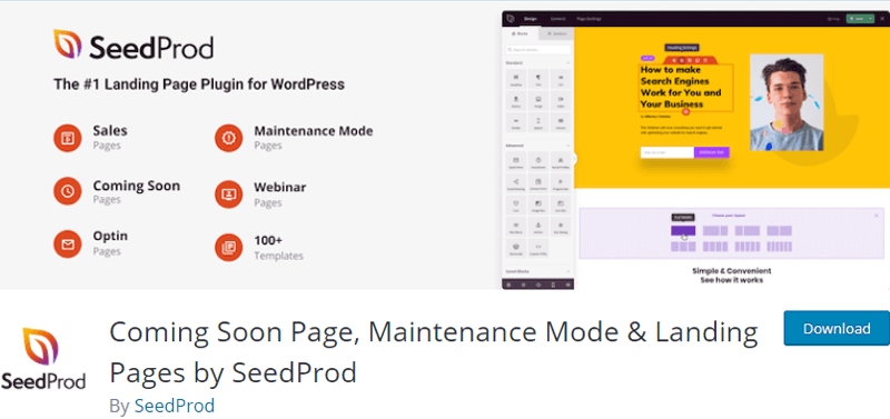 SeedProd Coming Soon WordPress Plugin