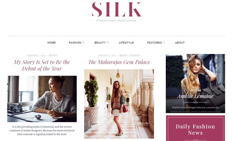Silk Lite WordPress Magazine Themes