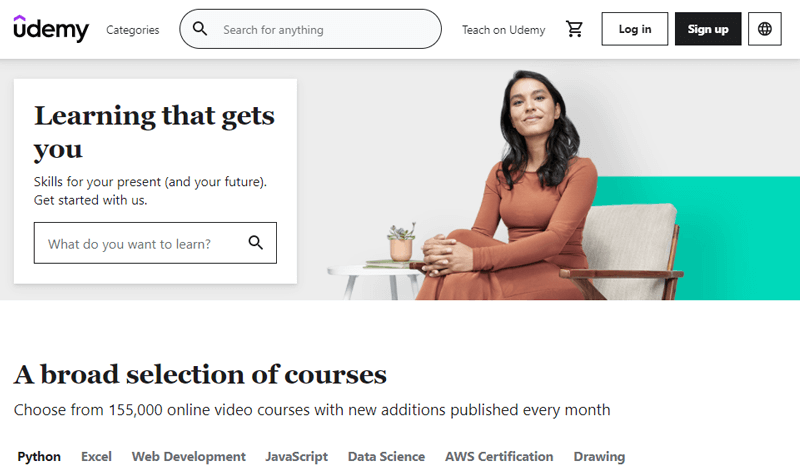 Udemy Most Popular Online Courses Websites