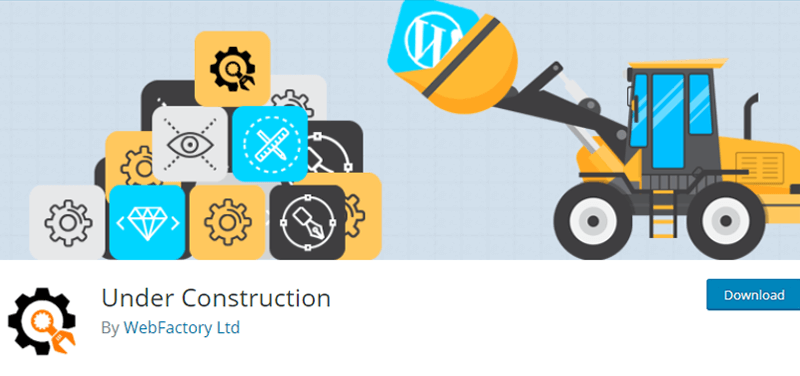 Under Construction Plugin