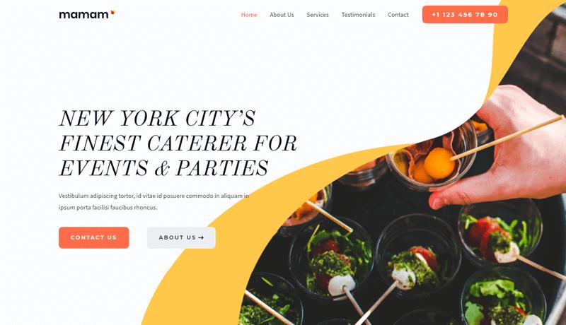 Astra Catering WordPress Theme