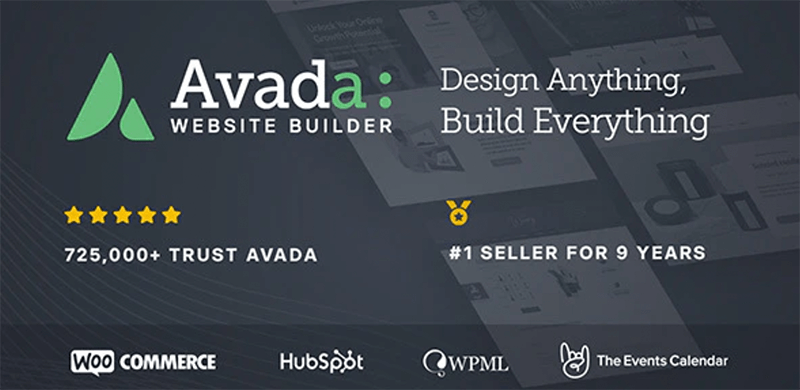 Avada Best WordPress Theme for Coders