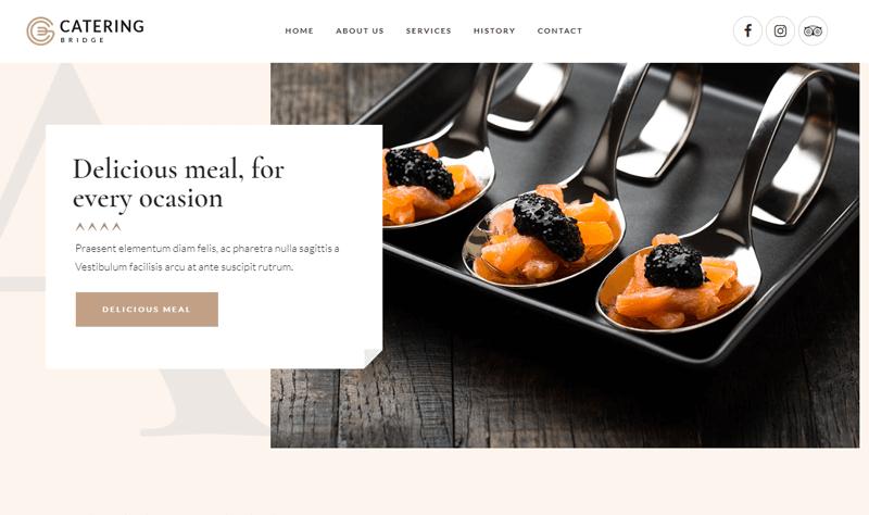 Bridge Catering Premium WP Theme