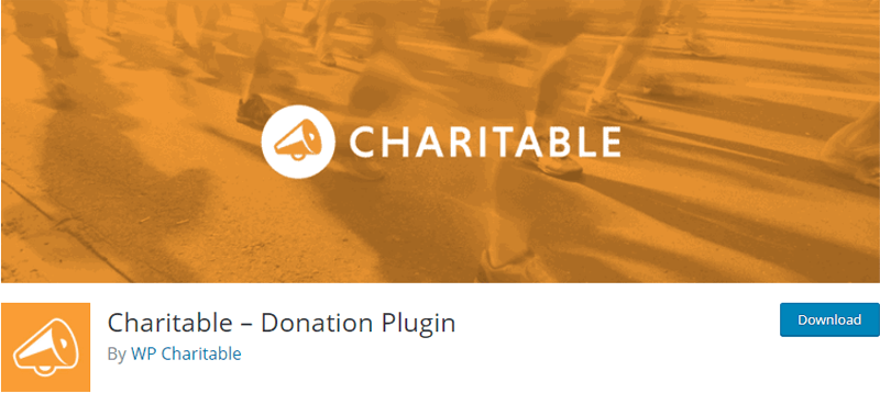 Charitable- WordPress donation plugin
