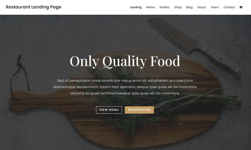 Divi-Restaurant-WordPress-Themes