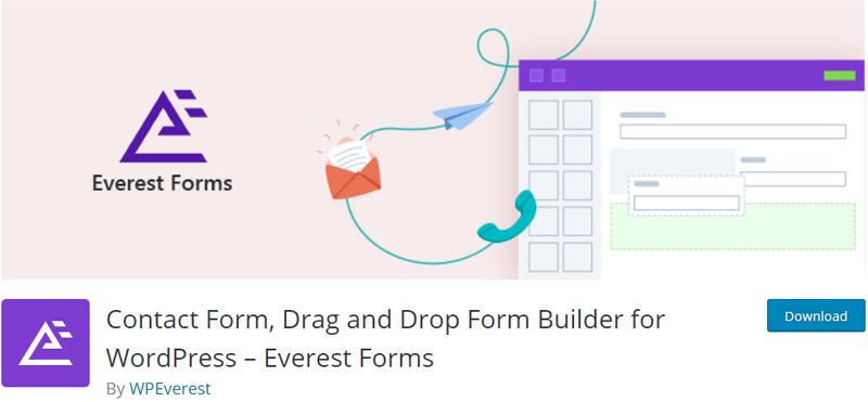 Everest-Forms-Plugin wordpress forms plugin