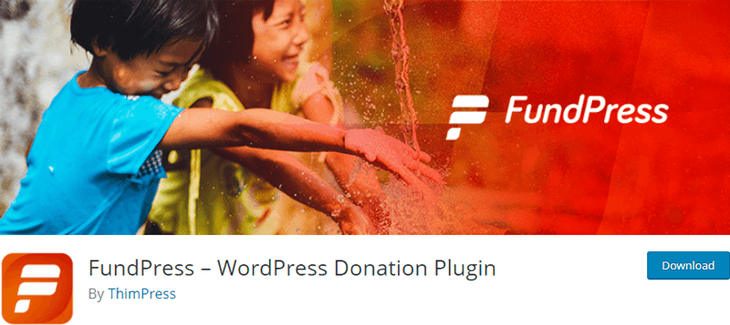 FundPress- WordPress PayPal or Stripe donation plugin