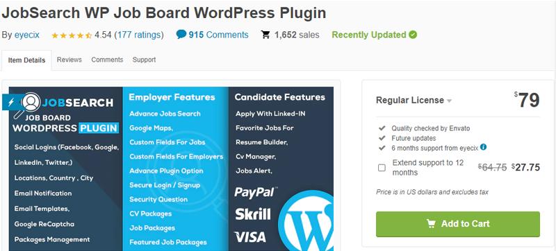 Job-Search-Plugin WordPress Job search plugin