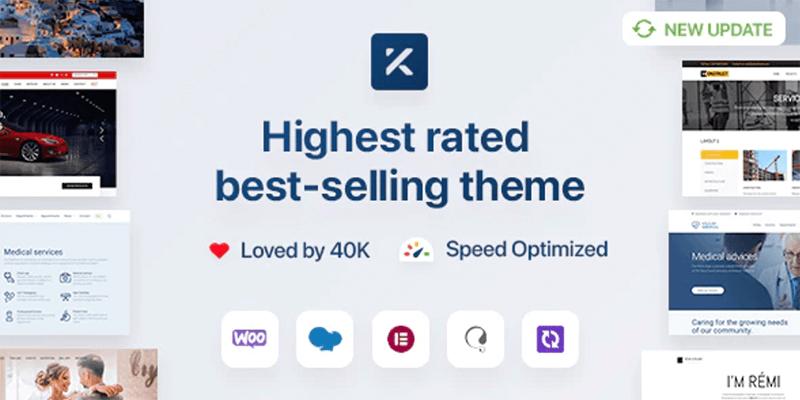 Kalium Best WordPress Theme for Coders