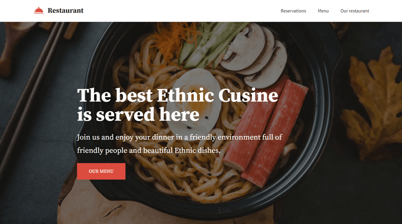 Neve Catering WP Theme