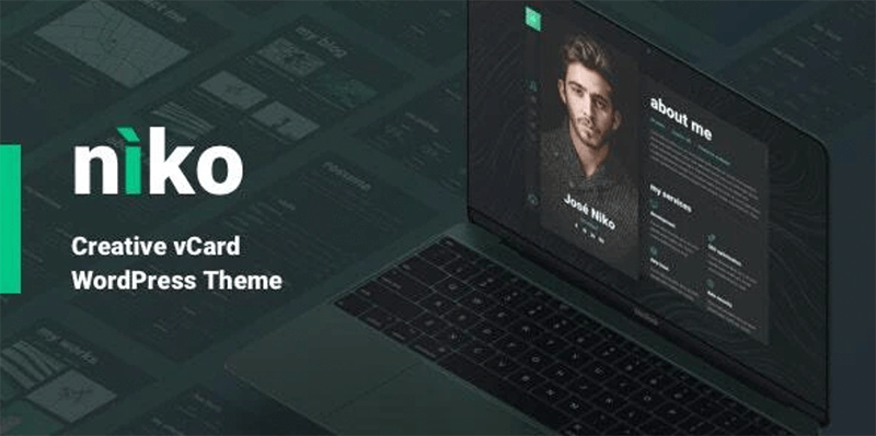 Niko Best WordPress Theme for Coders