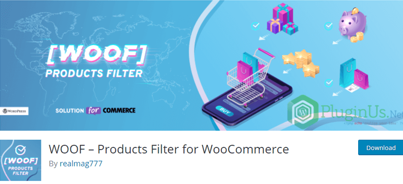 Products Filter for WooCommerce Extension