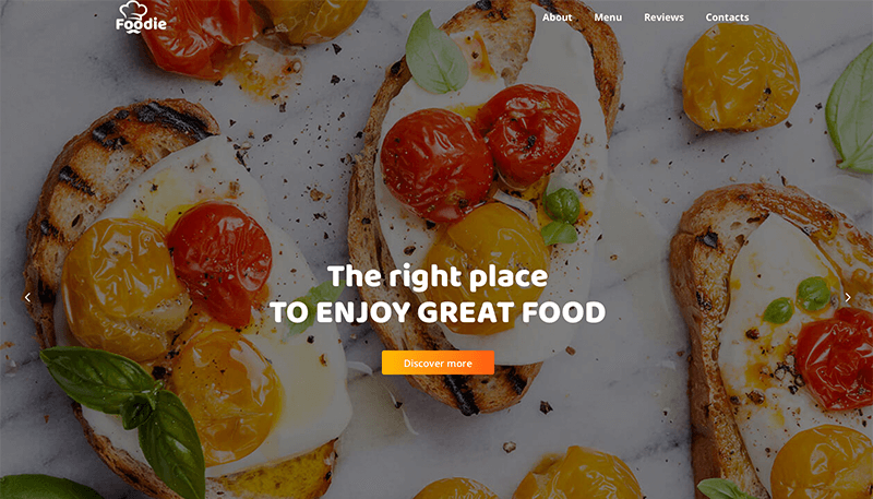 Ronneby Best Catering WordPress Theme