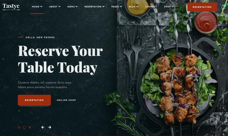 Tastyc-Restaurant-WordPress-Themes