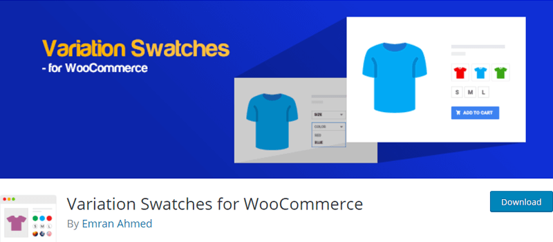 Variation Swatches for WooCommerce Extension