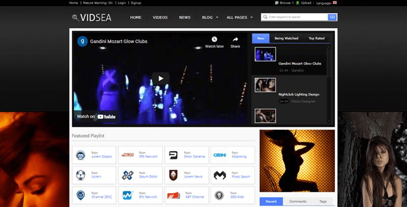 Video-Streaming-Theme wordpress live streaming plugin