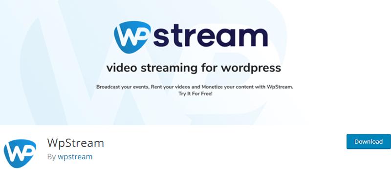 WpStream- WordPress live streaming plugin