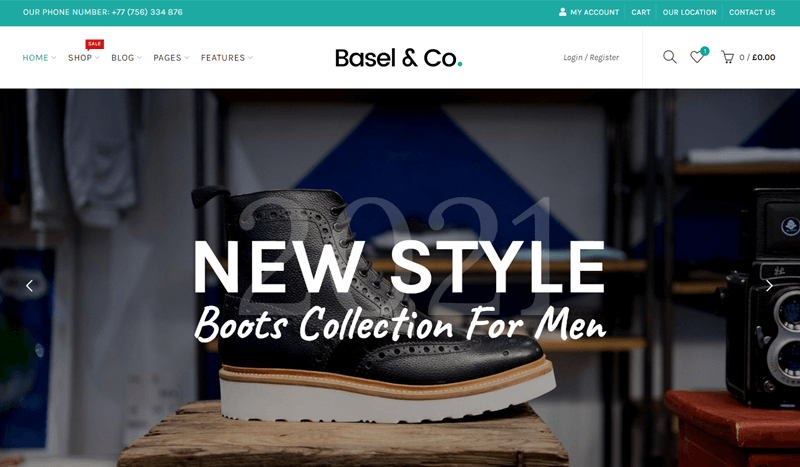 Basel Multi-vendor WordPress Theme