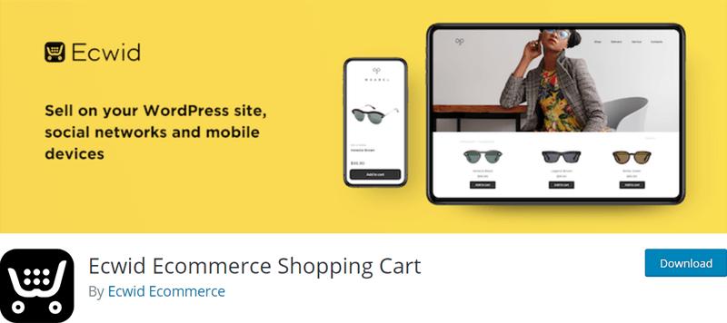 Ecwid Shopping Cart WordPress Plugin