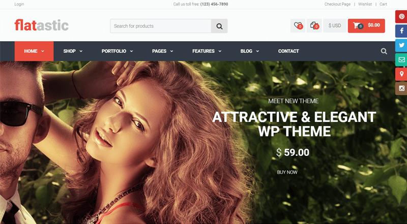 Flatastic WordPress Theme