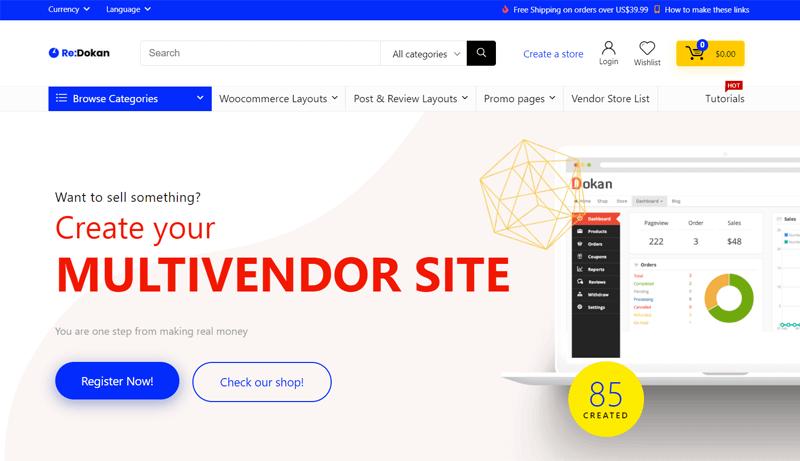 REHub Multi-vendor Theme