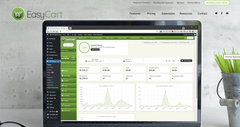 WP EasyCart eCommerce Plugin