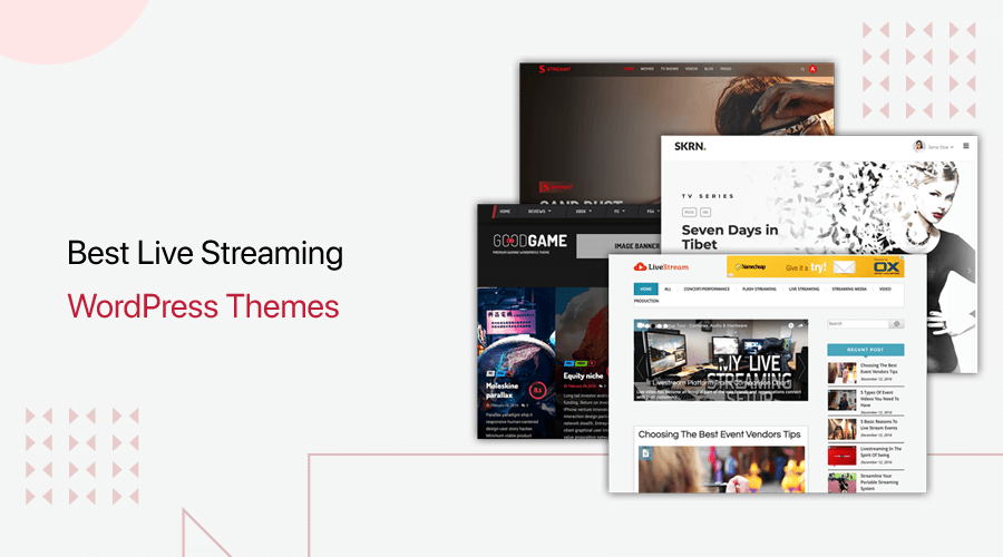 Best Live Streaming WordPress Themes
