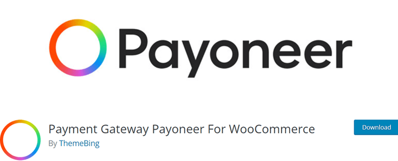 Payment Gateway Payoneer For WooCommerce