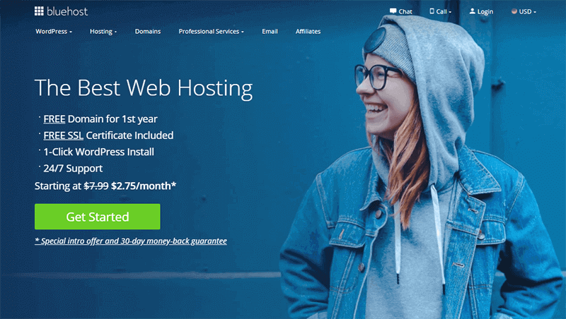 Bluehost Domain Name Registrar