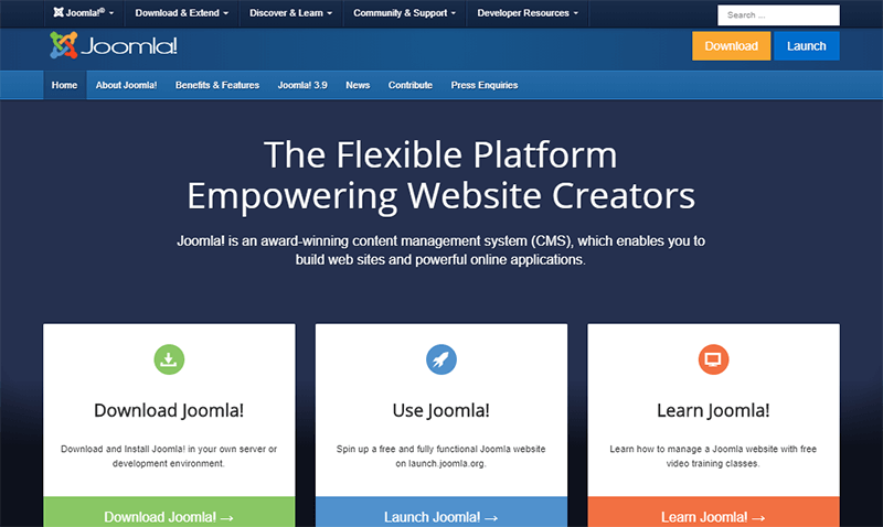 Joomla a Popular Content Management System