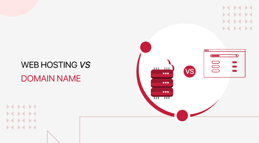 Web Hosting vs Domain Name