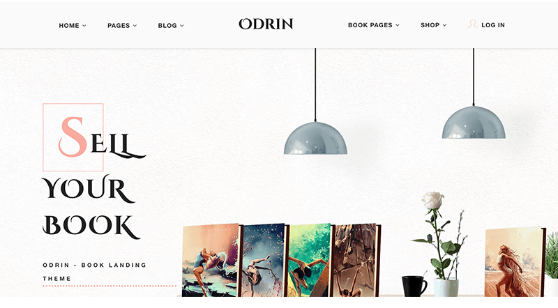 Odrin WordPress Theme for Writers