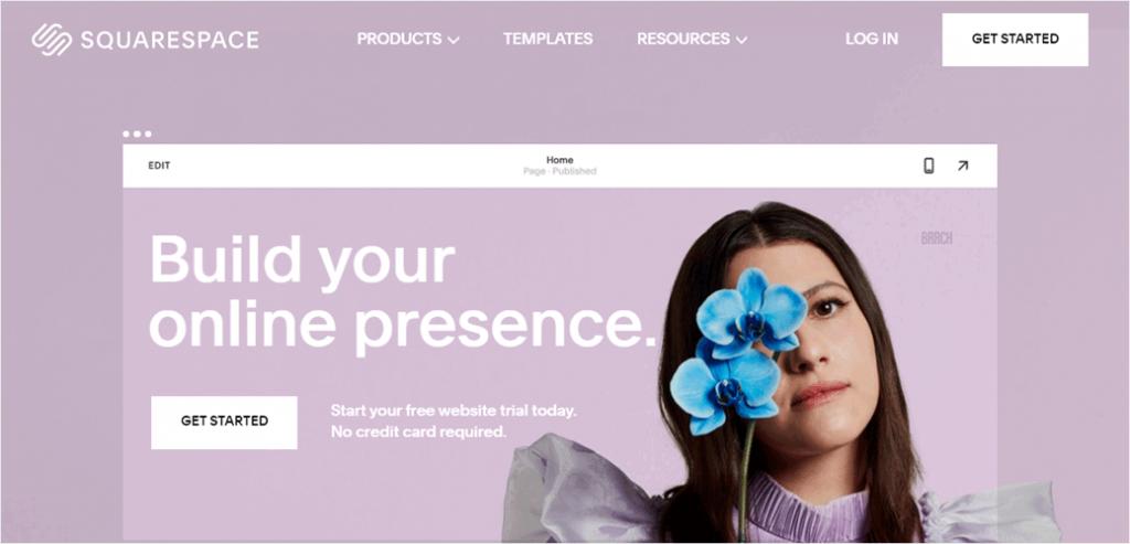 Squarespace Website Builder