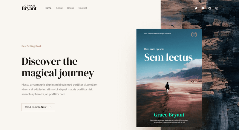 Astra Theme Best WordPress Themes for Authors