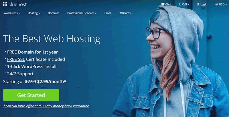 Bluehost Web Hosting Company