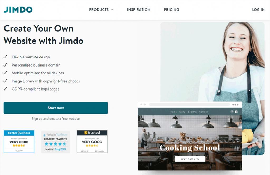 Jimdo Website Builder