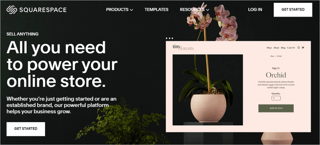 Squarespace Website Platform