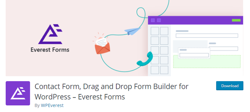 Everest Contact Form Plugin