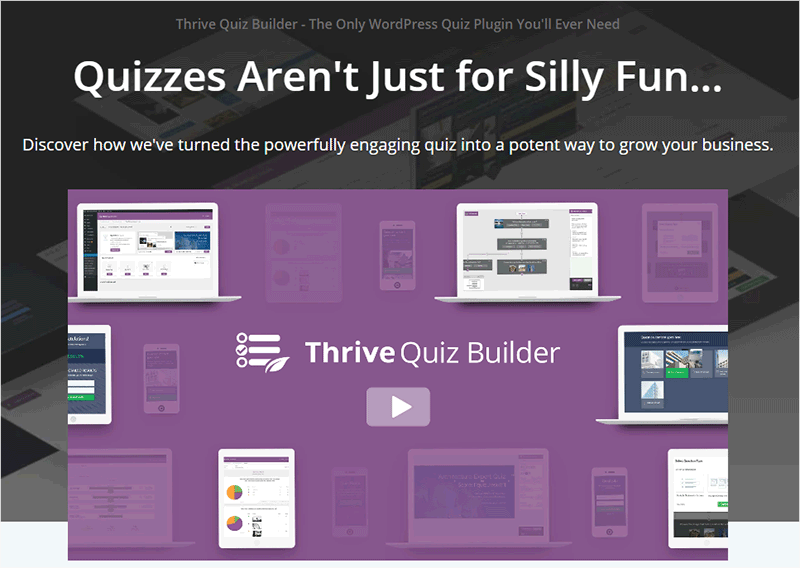 Thrive Quiz Builder Plugins