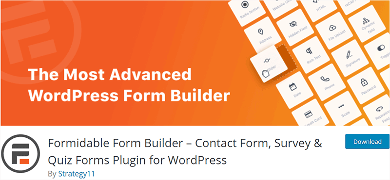 Quiz - Formidable Form Builder Plugins