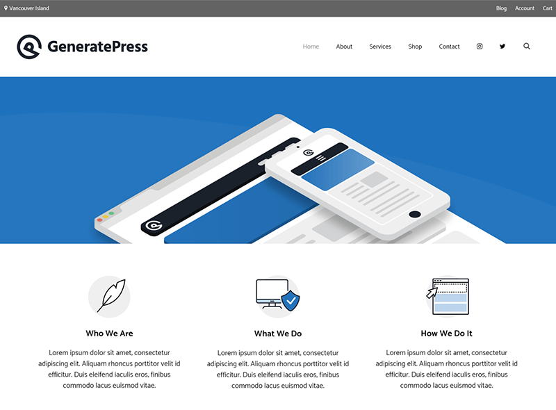 GeneratePress WordPress Theme